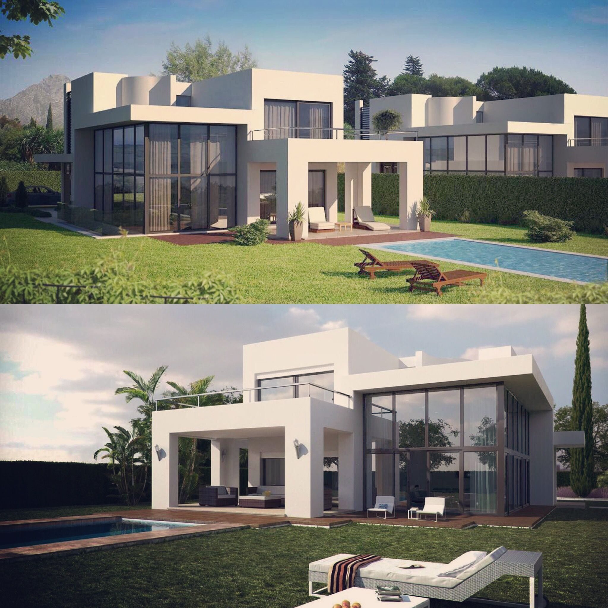 Architecture, Residential Compound, Render, Environmental, Sustainable,  Design, Green, Leed