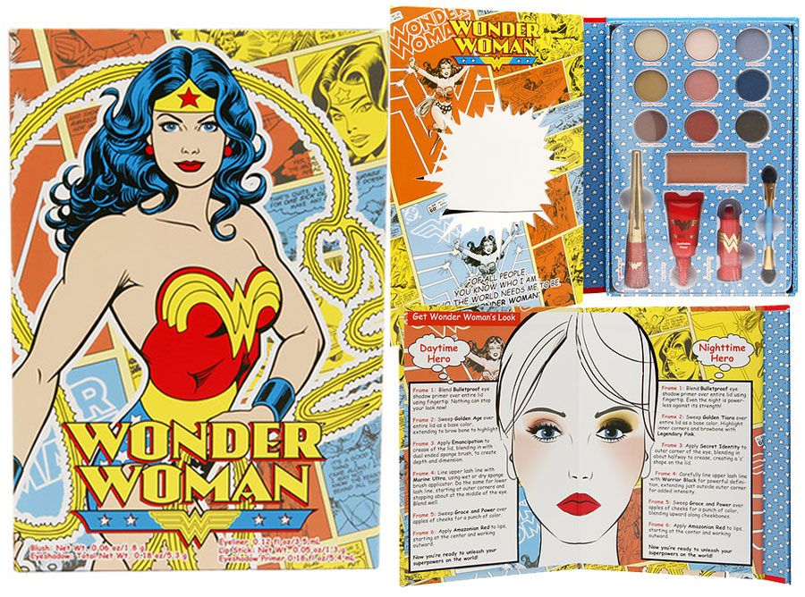 Maquiagem da Wonder Woman na Walgreens | Just Lia