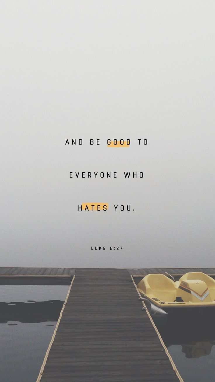 Luke 6:27-28 But I say unto you which hear, Love your enemies, do good to them which hate you, bless them that curse you, and pray for them which despitefully use you. | King James Version (KJV) | Download The Bible App Now