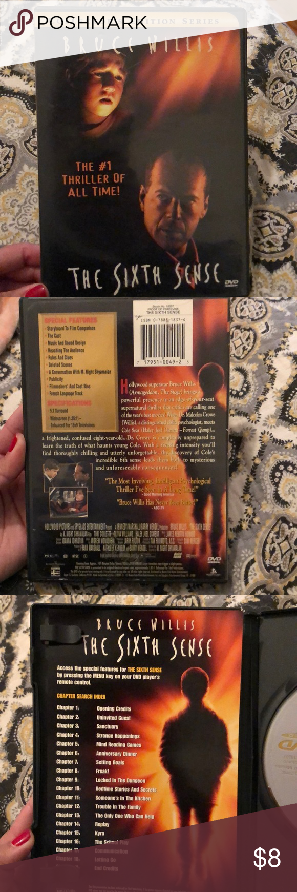 The Sixth Sense Great preowned condition !! tags: emotional