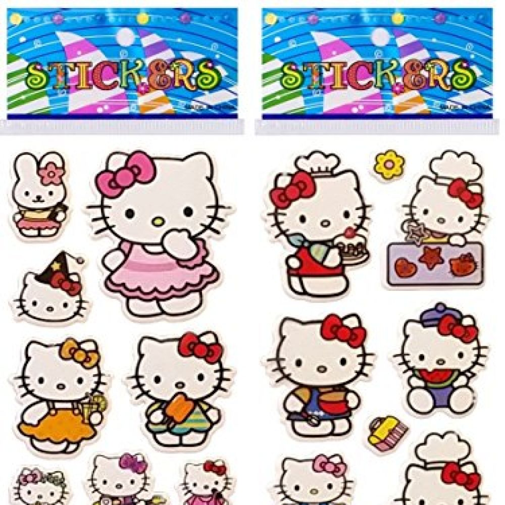 3e3ff2893 6 Sheets Puffy Dimensional Scrapbooking Party Favor Stickers + 18 ...