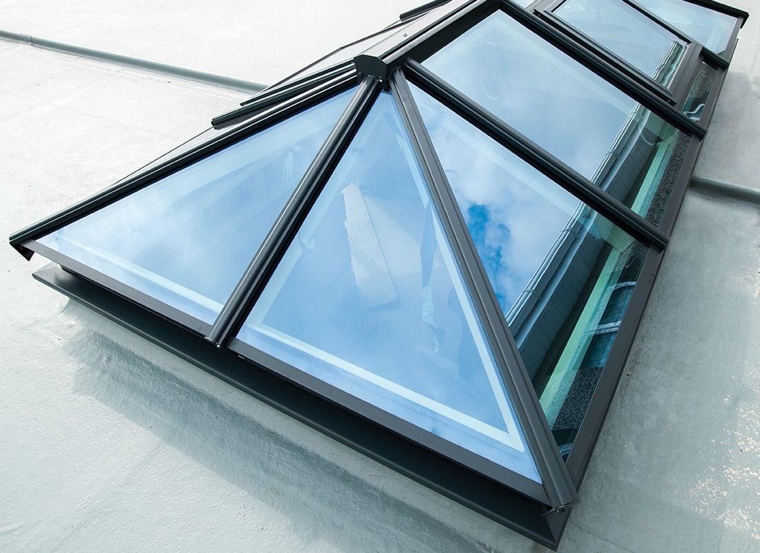 Hehku Aluminium Roof Lantern Aluminiumskylight Aluminiumroof