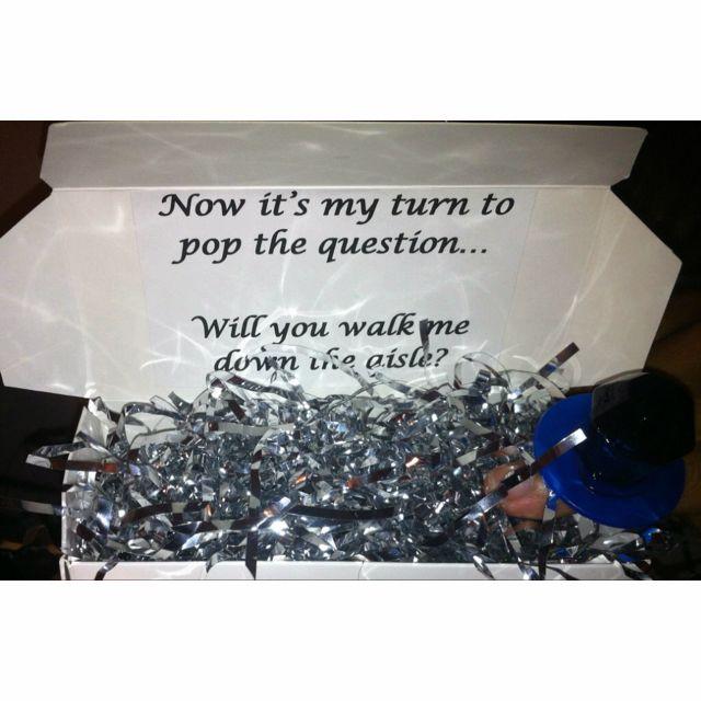 So Cute Way To Ask Your Dad/or Whoever You Want To Walk
