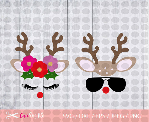 Cara De Reno Svg Svg De Cuernos De Rudolf Camisa De Svg Manualidades De Navidad Para Niños Arte De Navidad Manualidades Navideñas