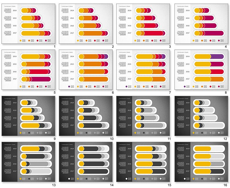 Stacked Bar Chart Toolbox for PowerPoint Work Pinterest - graphs and charts templates