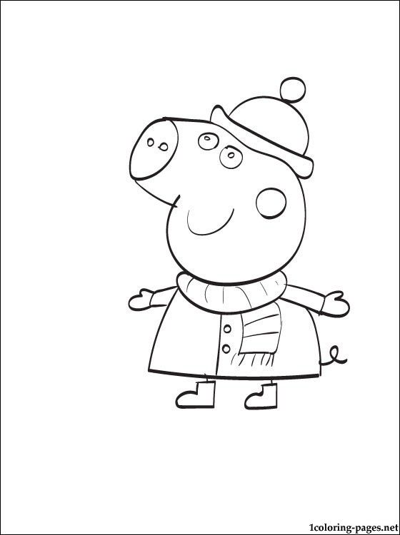 Peppa Pig - Nickelodeon Free Coloring Pages Pinterest - new free coloring pages for peppa pig