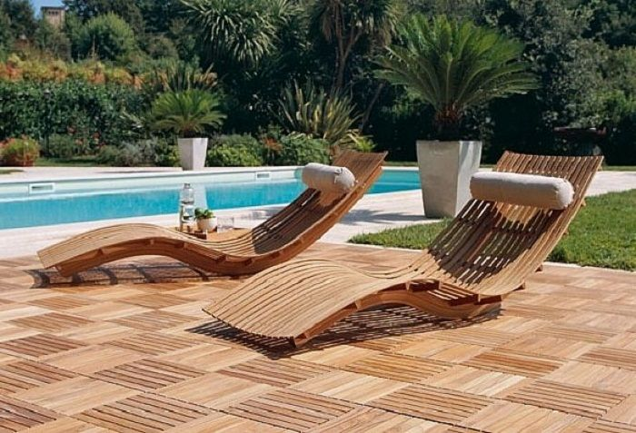 Modern Teak Patio Furniture Swimming Pool ~ http://lanewstalk.com/designs - Pin By Käunikkes On Pools In 2018 Pinterest Teak Outdoor