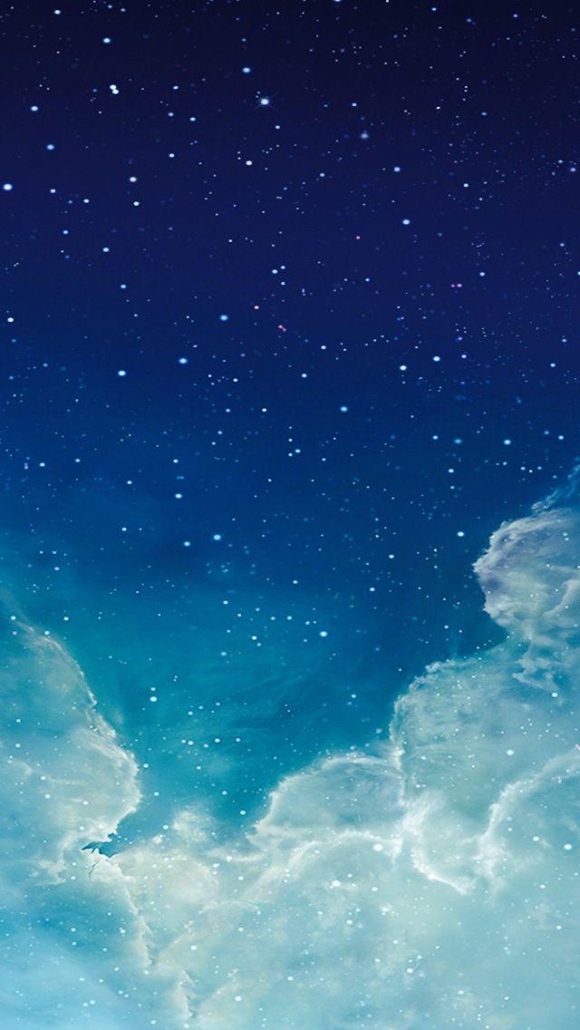 Iphone Wallpaper Sky Wallpaper De Tela Wallpaper Iphone5 Ceu Estrelado