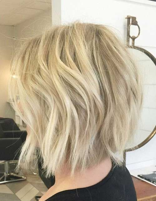Balayage Light Blonde Bob Style Hair Styles Short Hair Styles