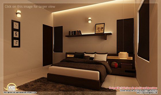 Beautiful Home Interior Designs Simple Bedroom Design Master Bedroom Interior Design Interior Design Bedroom Room interior design kerala