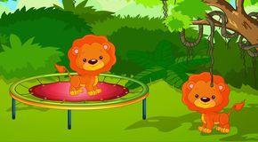 10 Küçük Aslancık - Saymayı Öğreniyoruz - Çocuk Şarkısı