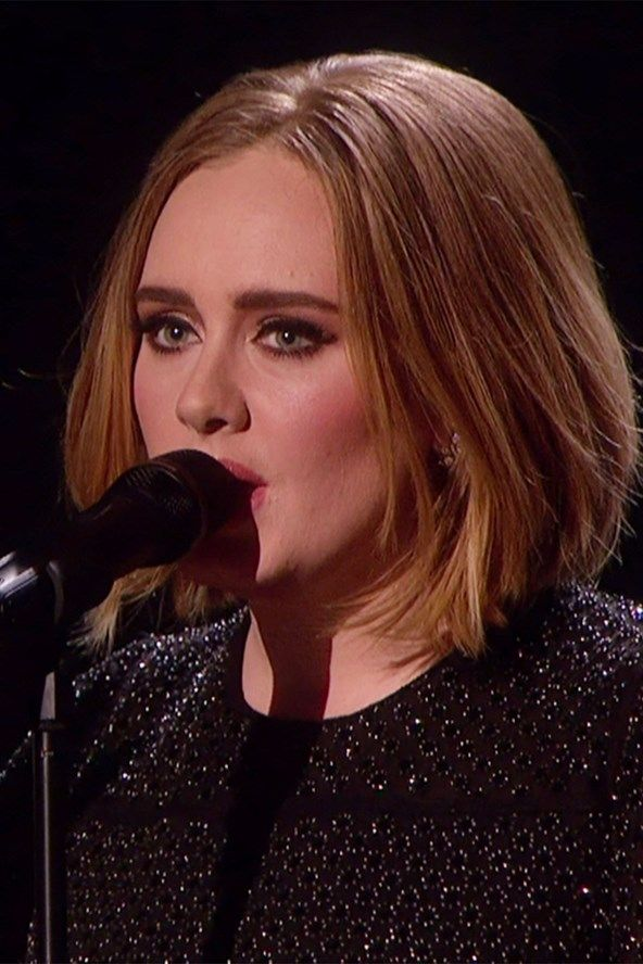 Adele Shows Off Her New Bob Hairstyle On X Factor Perfection
