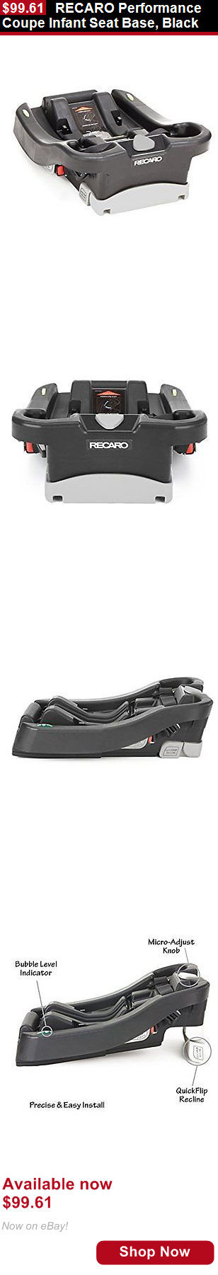 Infant Car Seat Recaro Performance Coupe Base Black BUY IT NOW ONLY