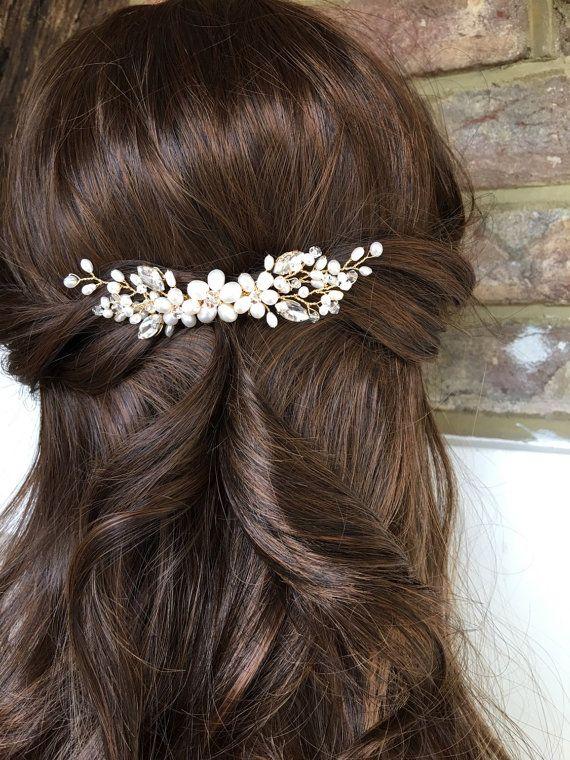Bridal Hair Comb Wedding Hair Comb Bridal Accessories Bridal