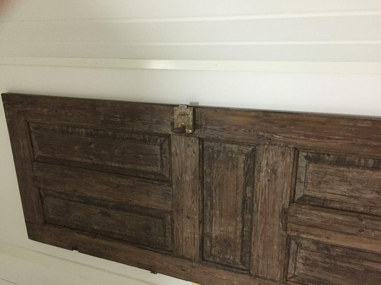 Sänggavel av gammal dörr Sovrum Pinterest Sänggavel och Sovrum