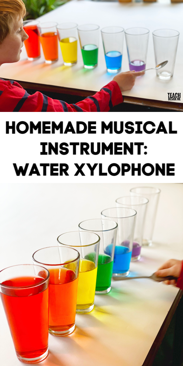 Homemade Musical Instrument: Water Xylophone - Teach Beside Me