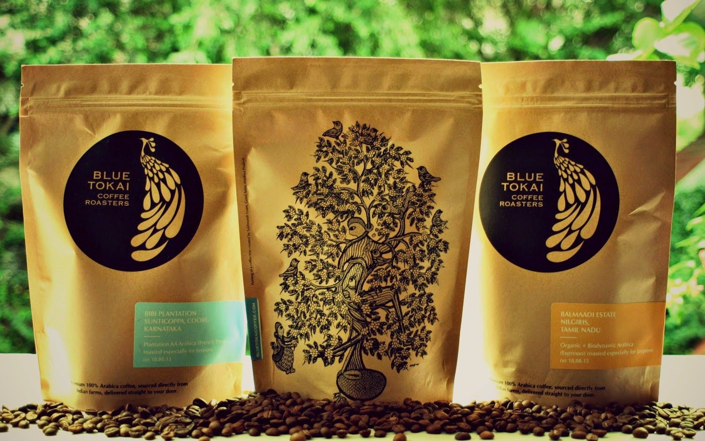 Blue Tokai Coffee beans   Coffee branding, Coffee, Best coffee