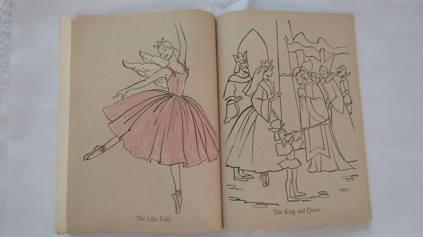 Coloring Pages For Barbie : 1977 ballerina barbie coloring book doll to cut out whitman mattel