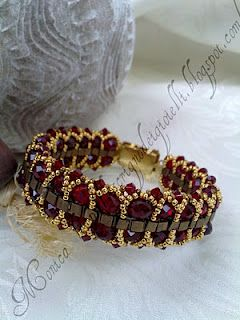This one looks like Rubies and Gold~