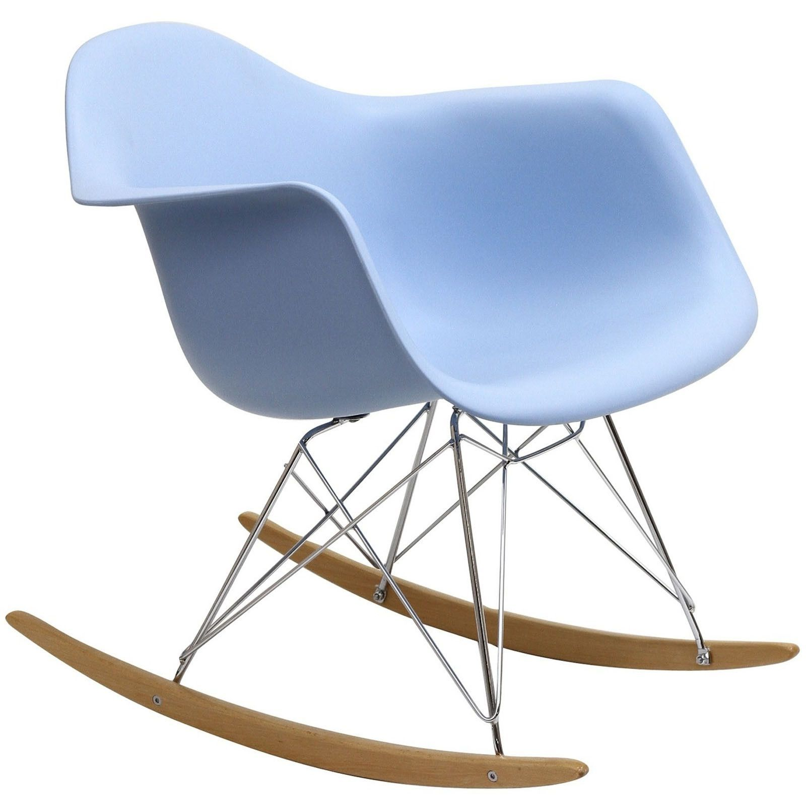 Modern Avant Rock Chair, Baby Blue | Baby blue and Babies