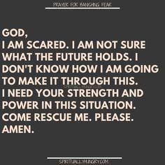 21 Prayers For Banishing Fear