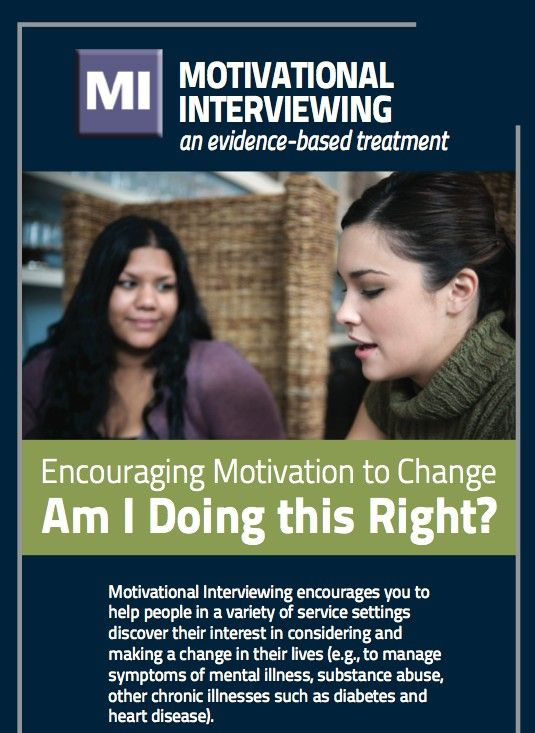 motivational interviewing critique The center's approach includes motivational interviewing, a goal-oriented form of  counseling cognitive behavioral therapy, a short-term form of.