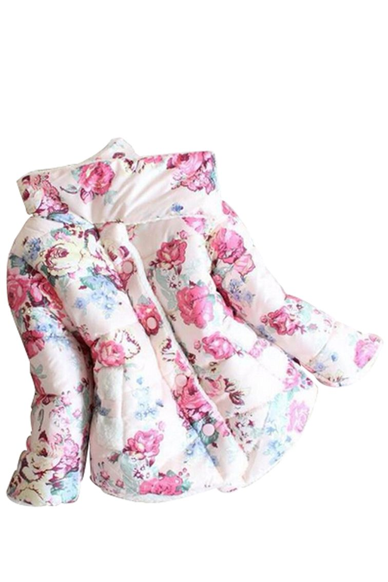 Click to buy ucuc winter girls sweet lovely thick trench coat jacket
