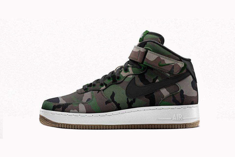 nike air force camouflage edition