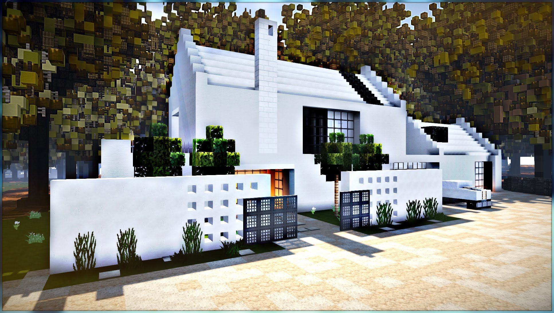 1000+ images about minecraft modern house on Pinterest  Small ... - ^