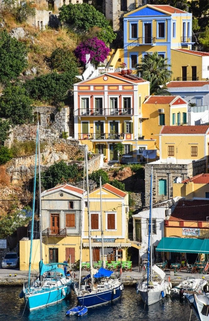 Smitten with Symi Greece Greek islands Beautiful places and Nice