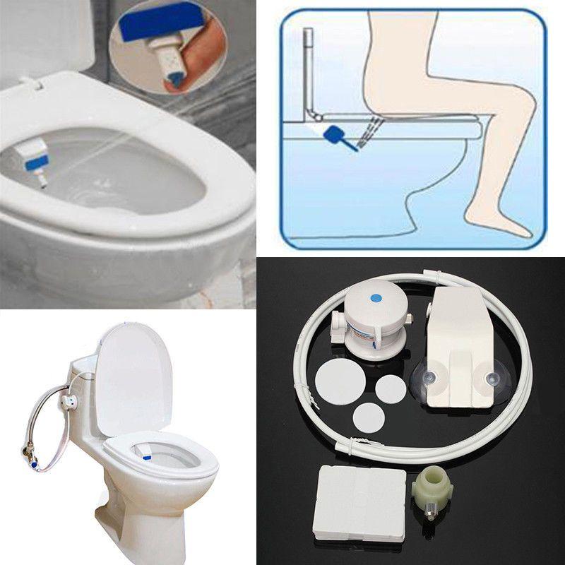 Bathroom Smart Hygiene Easy Toilet Bidet Seat Sprayer Water Wash Unisex Shattaf 14 09 Smart Toilet Bidet Seat Bidet