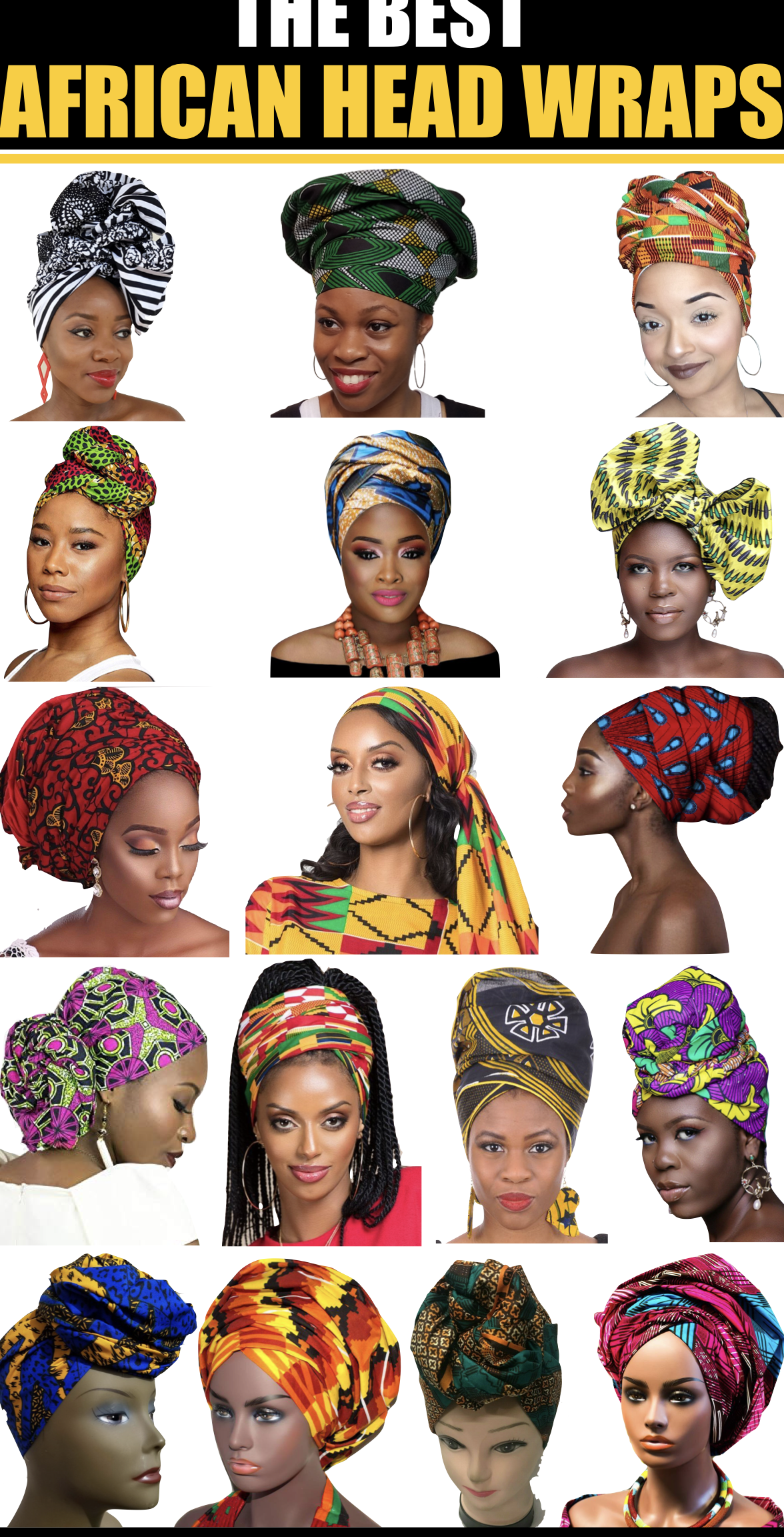 african clothing 17 Best African Head Wraps In 202