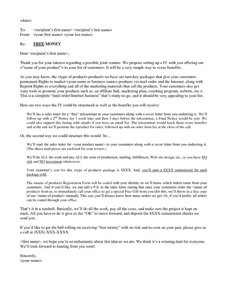 10 best images about sales letters on template a business and the - business letters