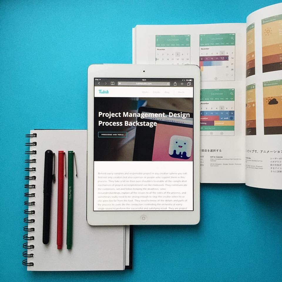 Tubik Studio Monthly Review - UI/UX design