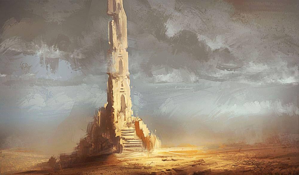 Резултат слика за Ivory tower painting