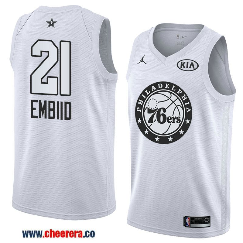 mens western conference philadelphia 76ers 21 joel embiid white 2018 nba all star jersey