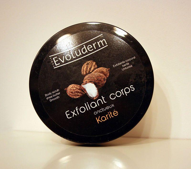 exfoliant corps evoluderm