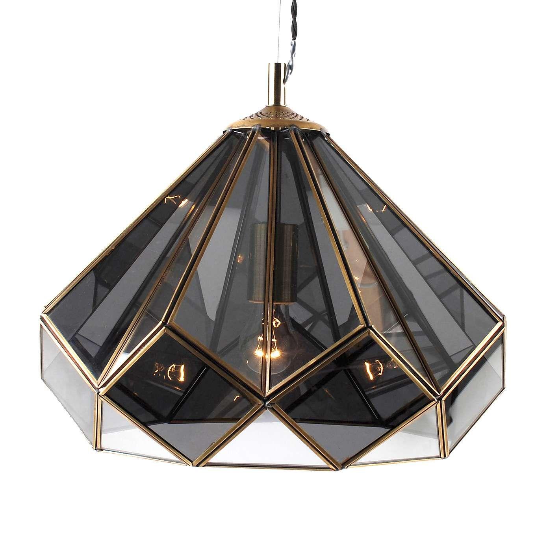 Terrarium smoked glass ceiling fitting dunelm bedroom furniture
