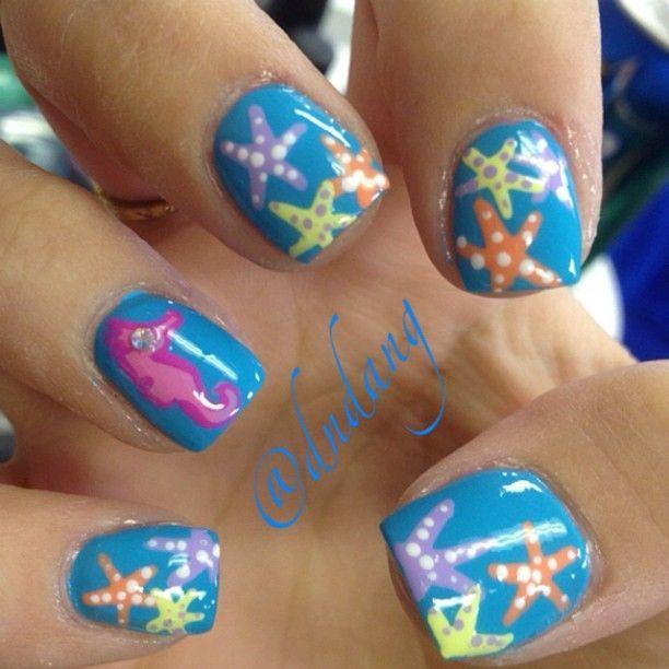 15 Ocean Nail Arts Ocean Nail Art Mermaid Nail Art And Mermaid Nails