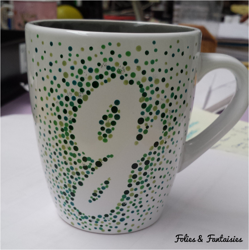 MUG DIY green Folies & Fantaisies