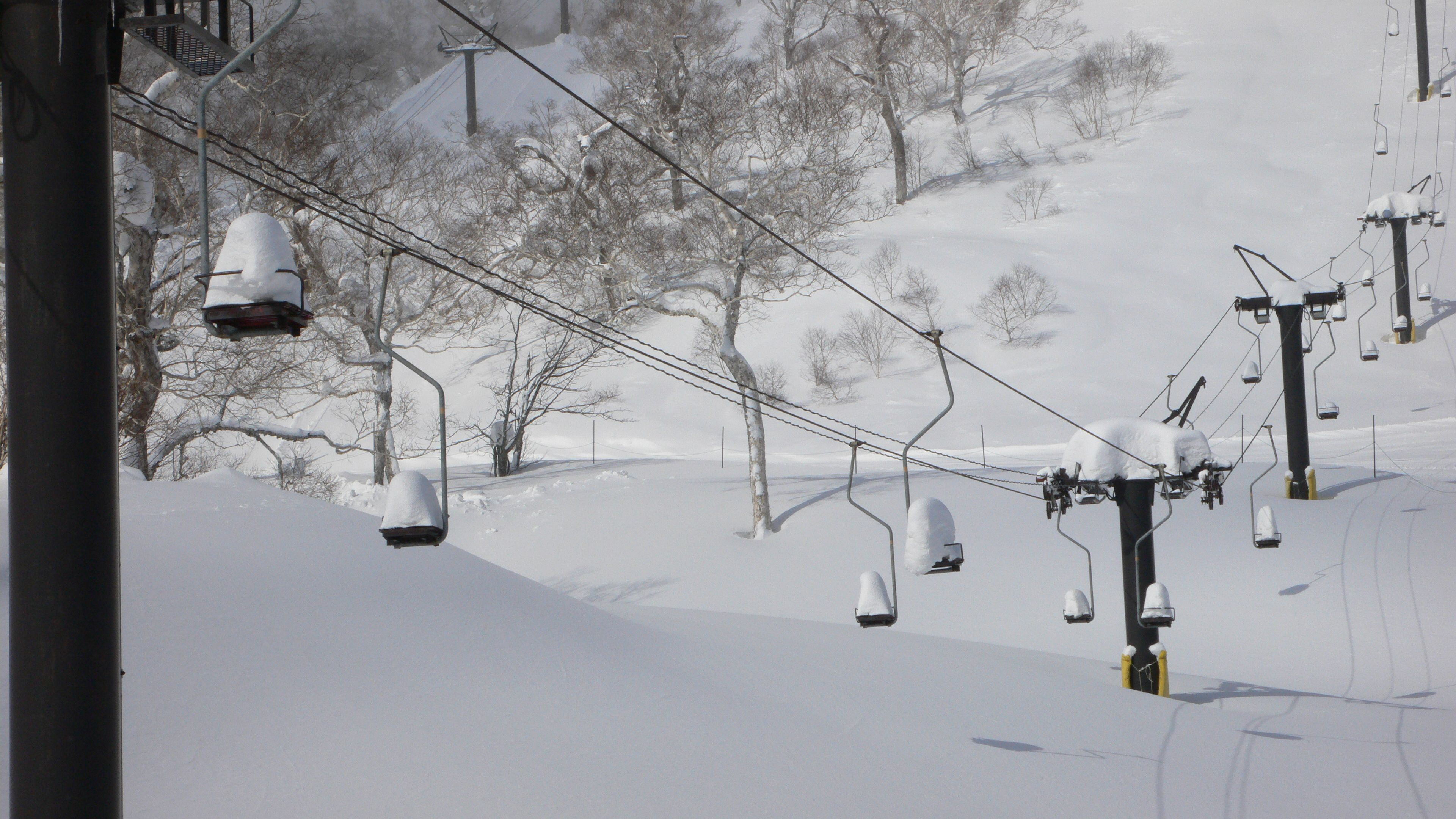 Snowy Ski Lifts Niseko Japan Japan Travel Japan Trip
