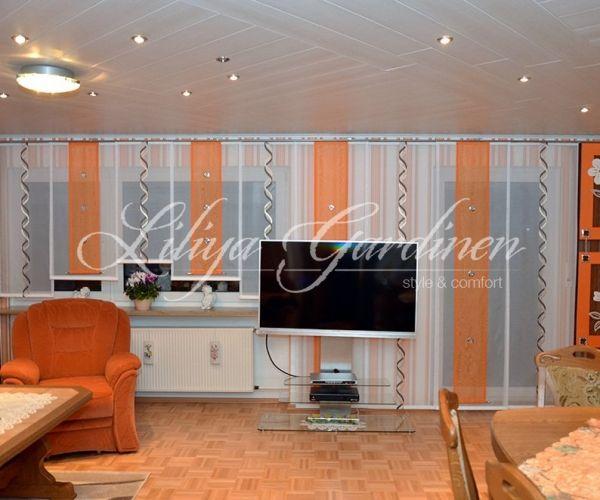 Schöne Wohnzimmer Gardinen nach Maß ✂ Wir gestallten Ihr Fenster - fenster gardinen küche