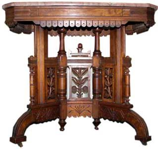 Eastlake Table   I Wouldnu0027t Mind Dusting This! Victorian FurnitureVictorian  ...