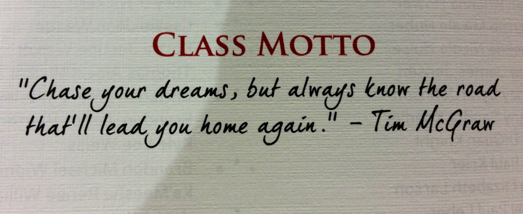 Classroom Motto Ideas ~ Class motto say what pinterest senior