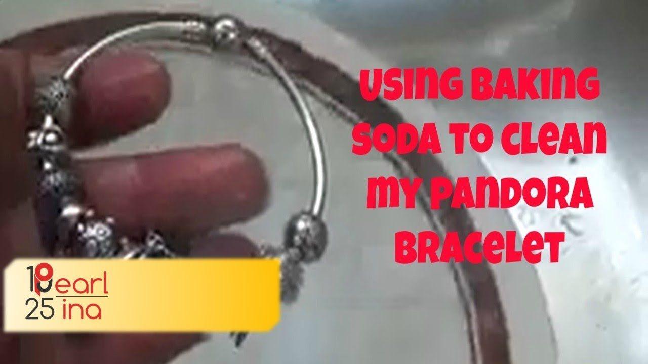 Using Baking Soda To Clean My Pandora Bracelet 💍 YouTube