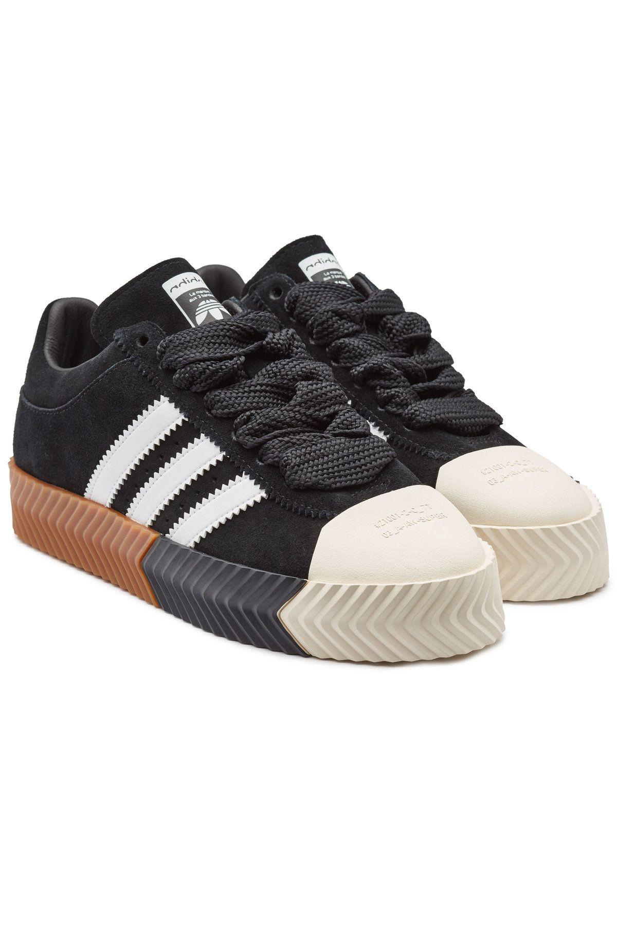 17b88e77a ADIDAS ORIGINALS BY ALEXANDER WANG AW SKATE SUPER SUEDE SNEAKERS.  #adidasoriginalsbyalexanderwang #shoes