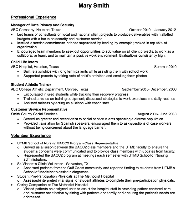 Child Life Intern Nurse Resume Sample httpresumesdesigncom