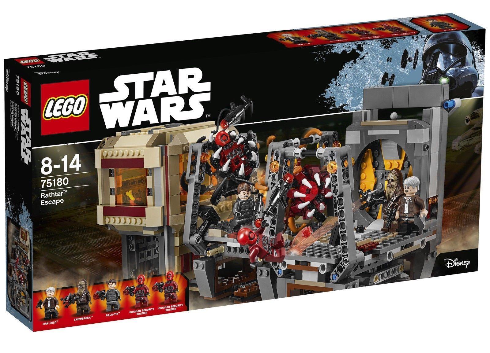 LEGO STAR WARS FIGURINE HAN SOLO ENDOR /& Blaster 75094 ** Nouveau **