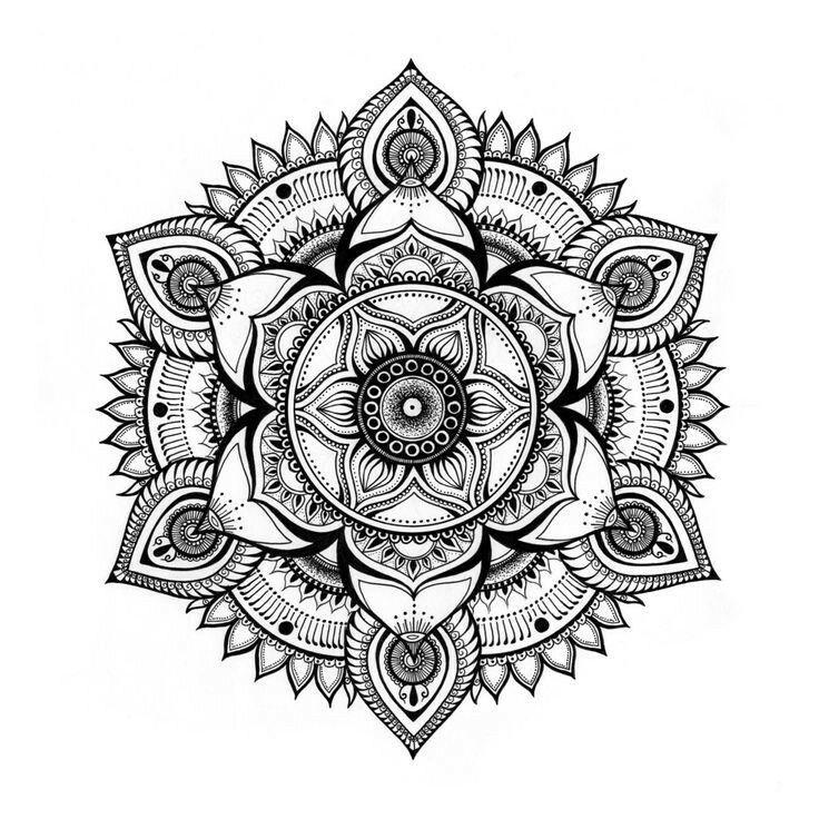 Pin By Django On Cool In 2019 Mandala Printable Mandala