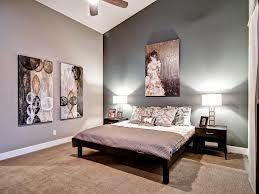 Accent Wall Sloped Ceiling For Bedroom Gray Master Bedroom Home Decor Bedroom Contemporary Bedroom
